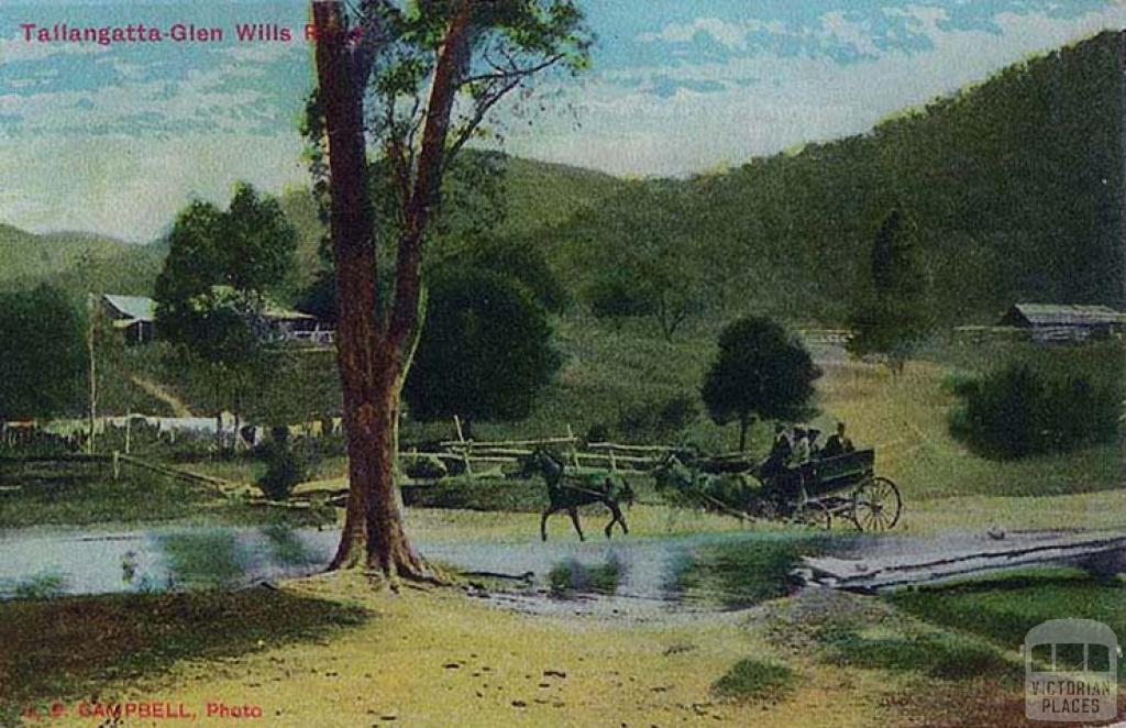 Tallangatta-Glen Wills River, c1910