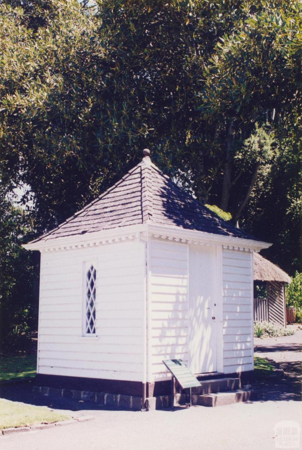 Customs House, Botanical Gardens, Geelong, 1997