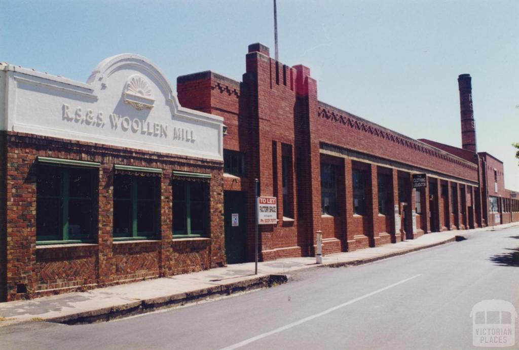 R.S.&.S Woollen Mill, Geelong, 1997
