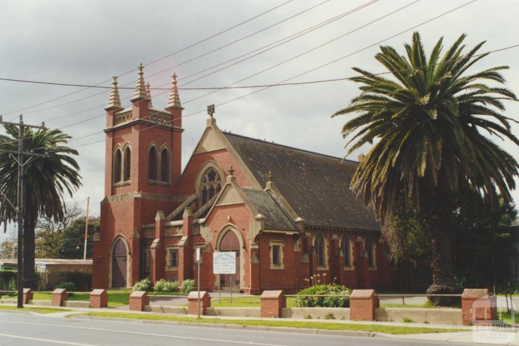 McKay Presbyterian Church, Anderson Street, Sunshine, 2000