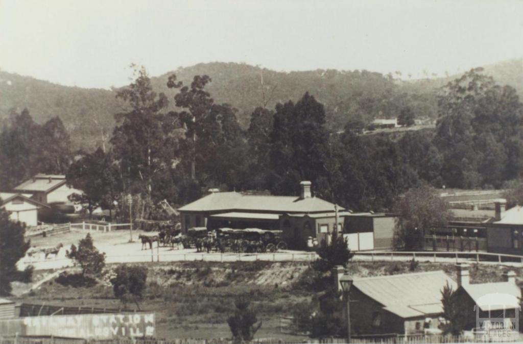 Healesville Railway Station, 1913