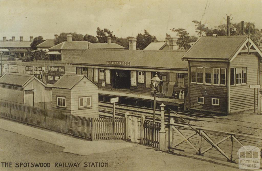 Spotswood Railway Station, 1910