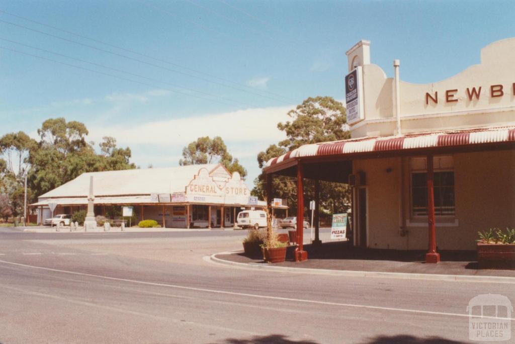 Newbridge, General Store and Hotel, 2001