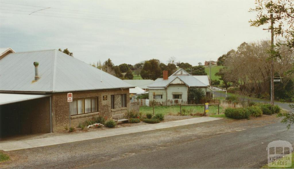 Jumbunna Hall and former general store, 2002