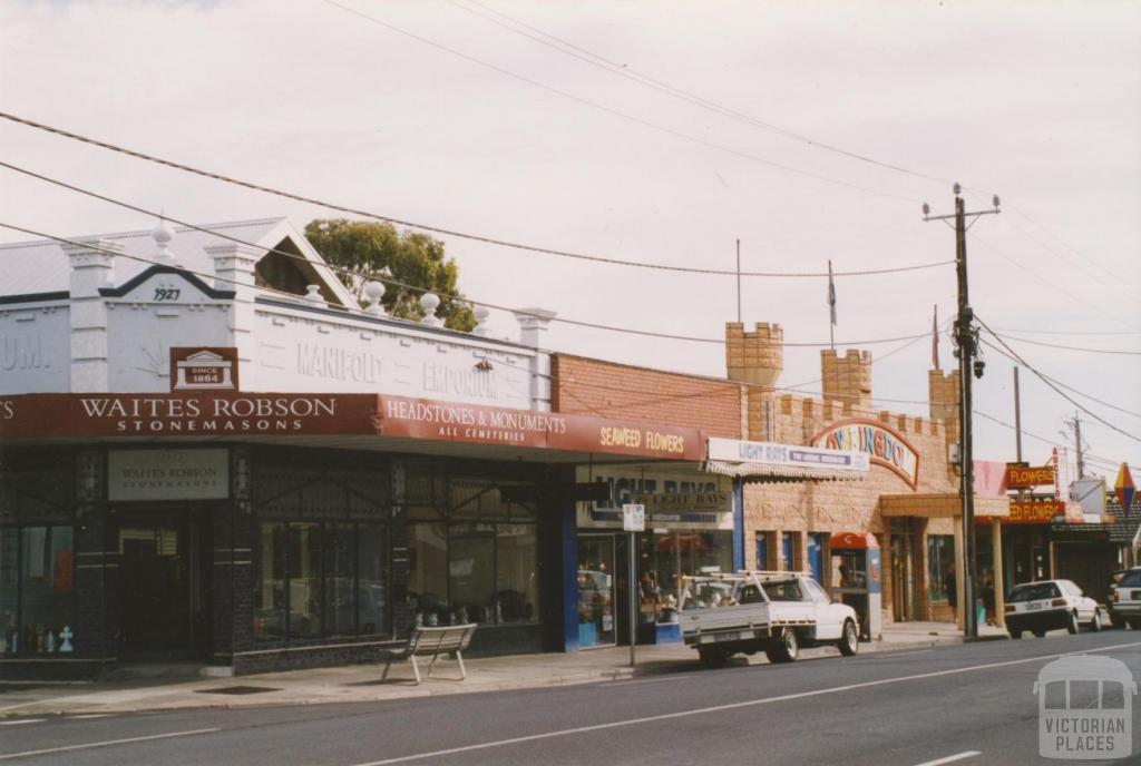 Shannon Street, Manifold Heights, 2004