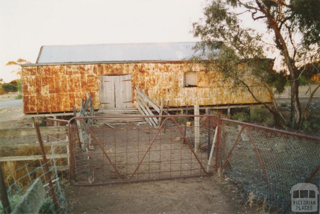 Woomelang shearing shed, 2005