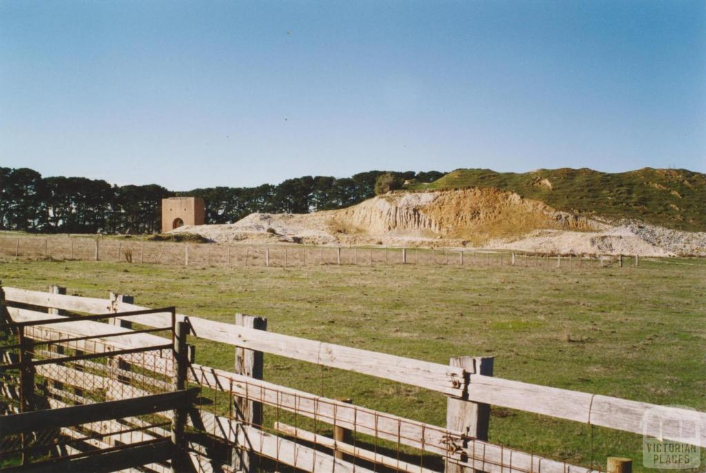 Hepburn No 1 mine, Clementson, 2005