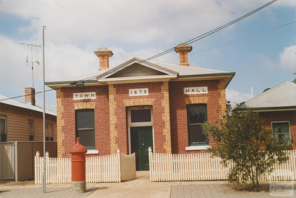 Raywood town hall, 2007