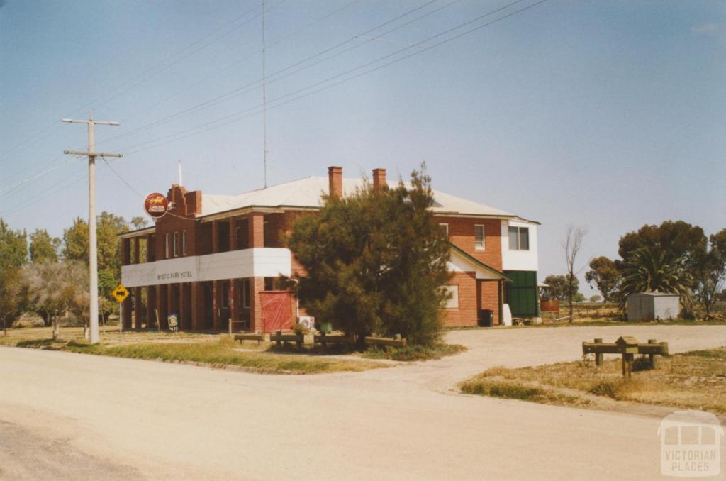 Mystic Park hotel, 2007