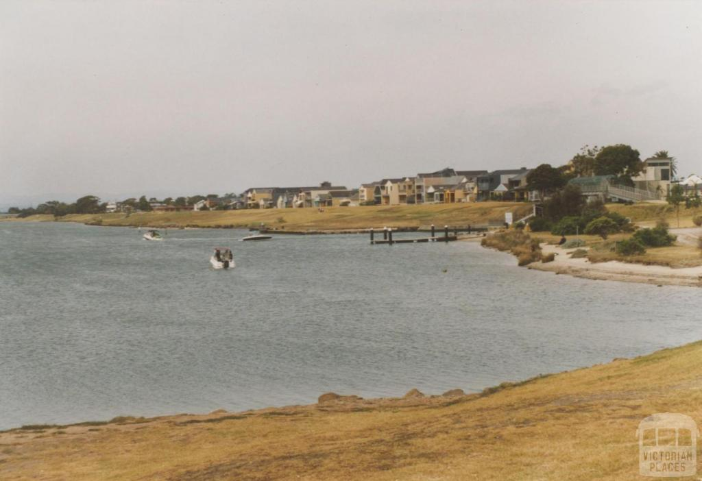 Patterson Lakes from near floodgates, 2008