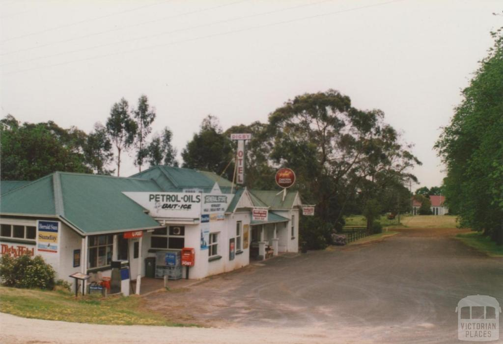 Digby Hotel, general store and Church of England, 2008