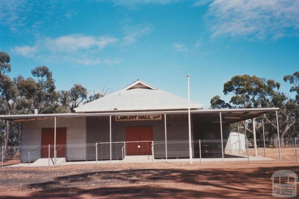Lawloit hall, 2008