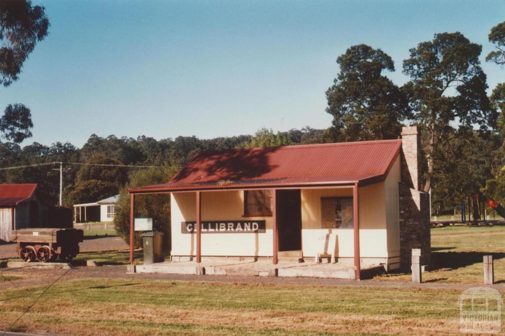 Gellibrand railway station, 2009