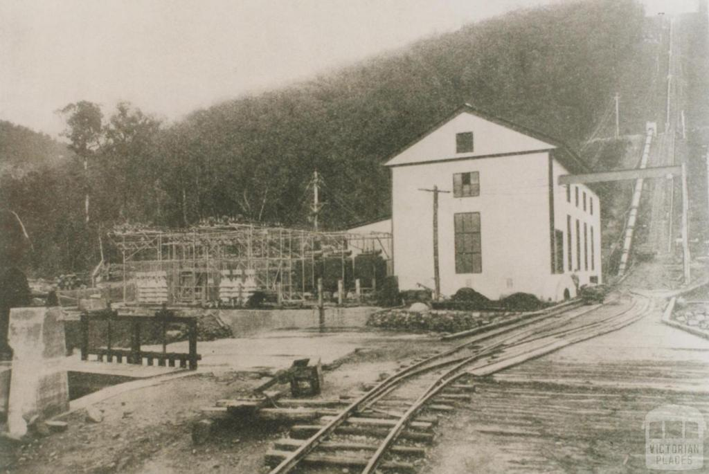 Rubicon power house, 1928