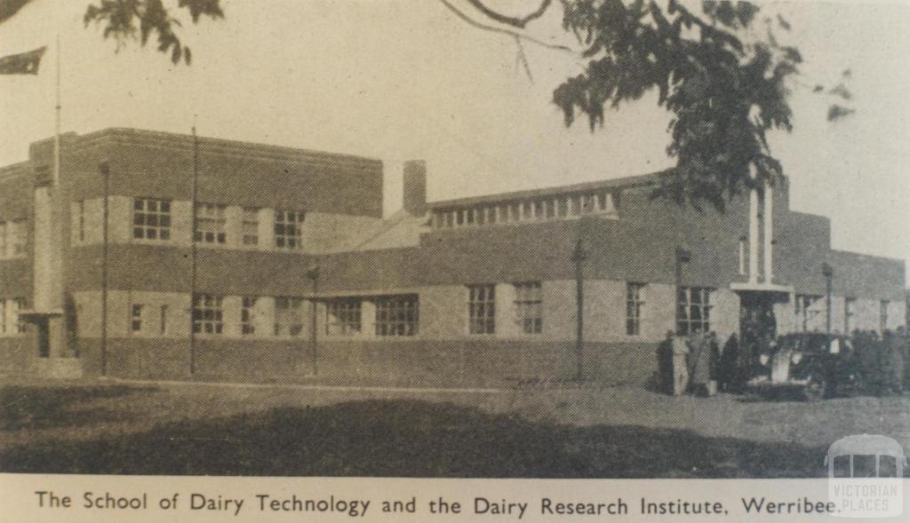 The School of Dairy Technology and Dairy Research Institute, Werribee, 1942