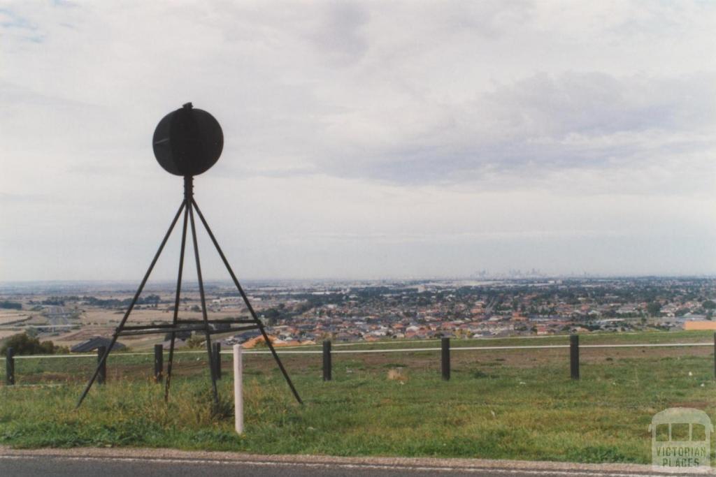 Craigieburn from Mount Ridley, 2010