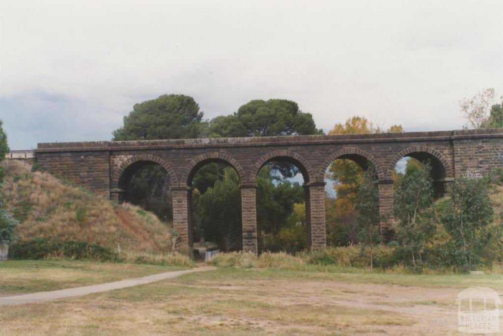 Railway bridge (1861) Jacksons Creek, 2010