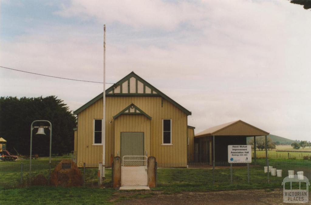 Ascot Mutual Improvement Association hall, 2010