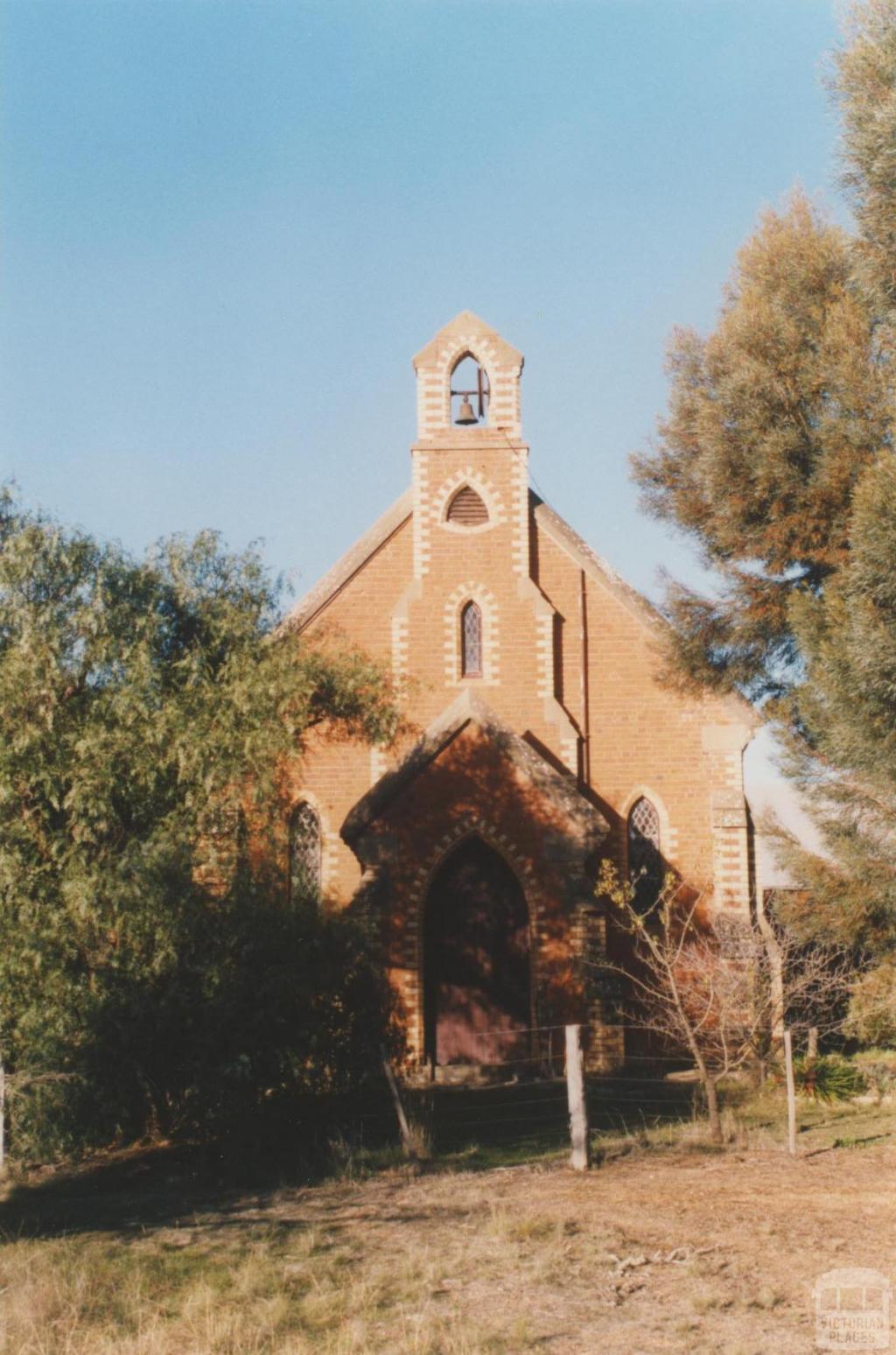 St Pauls Church of England (1866) Eddington, 2010