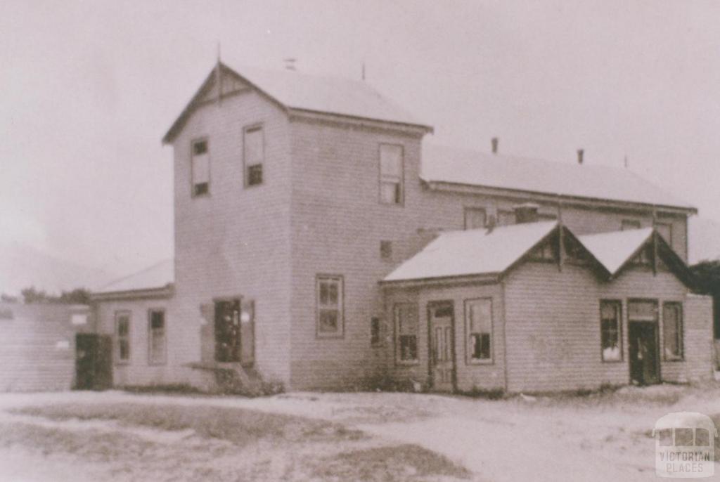 Apollo Bay butter factory, 1934