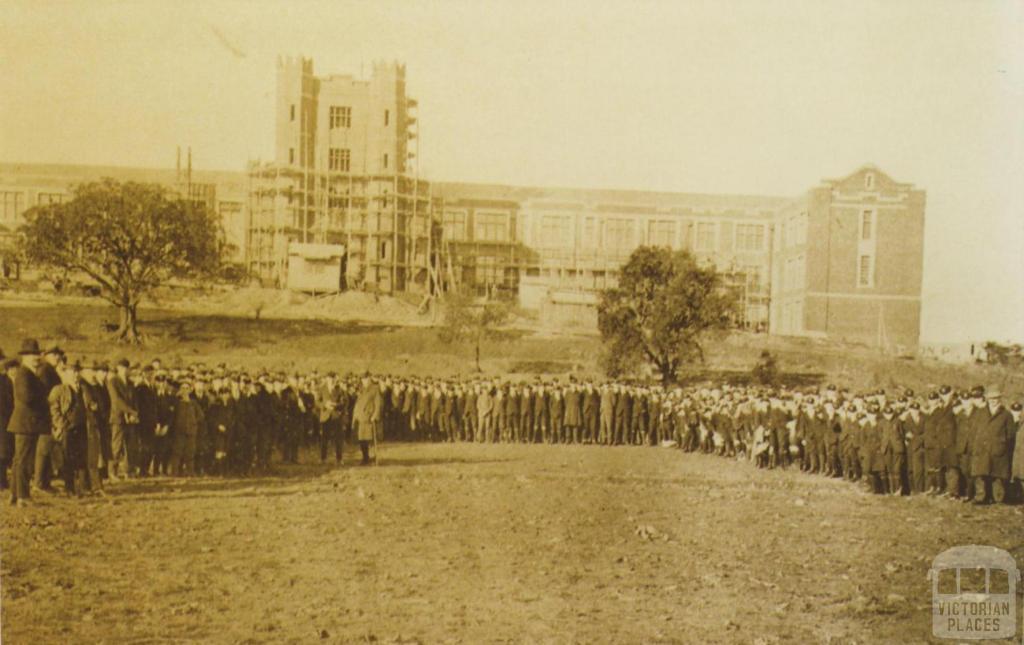 Melbourne Boys' High School, South Yarra, 1927