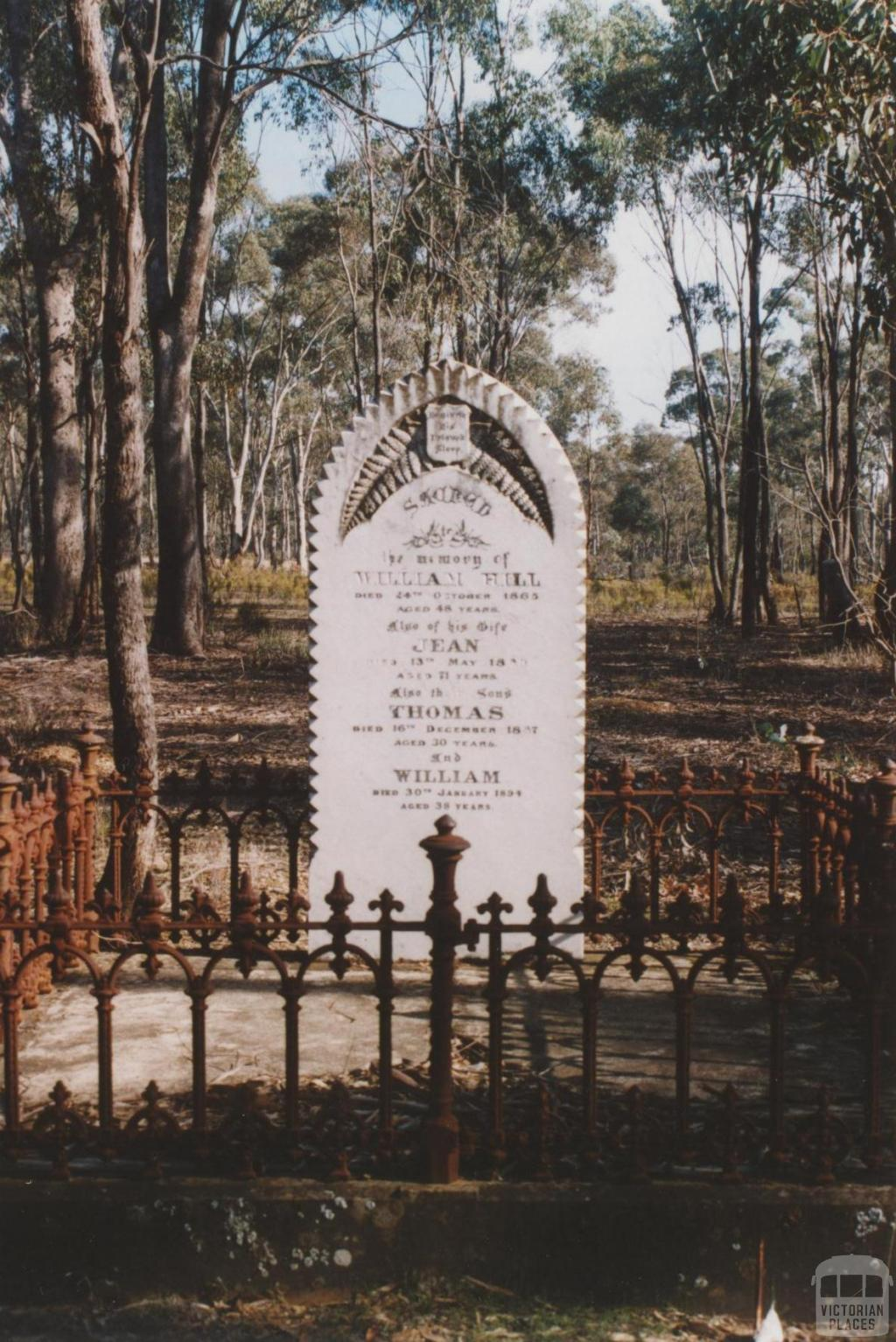 Old Dunolly cemetery, 2010