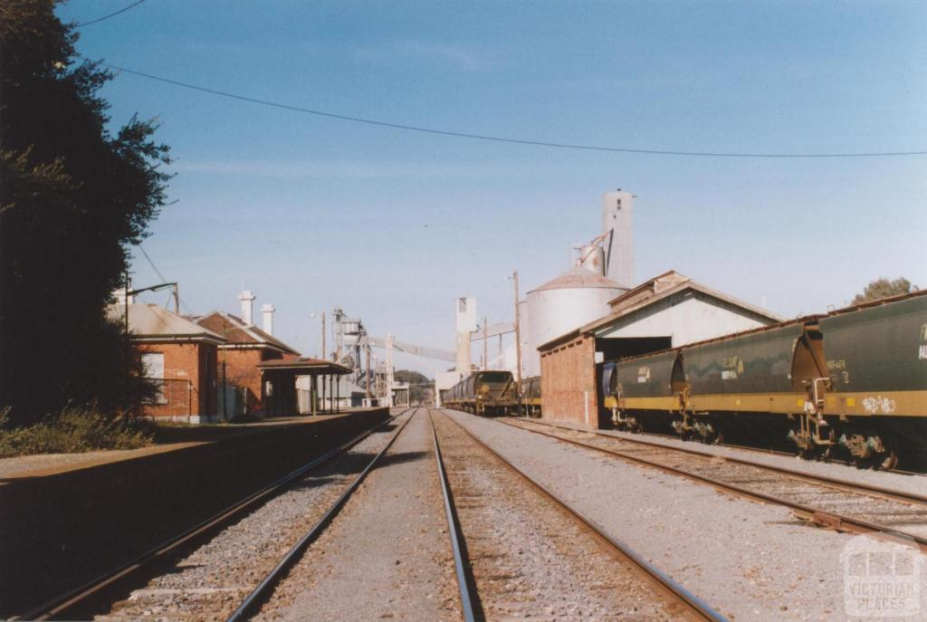 Dunolly Railway Station, 2010