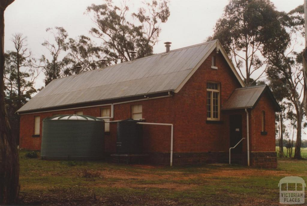 Former school and hall, Adelaide Lead, 2010