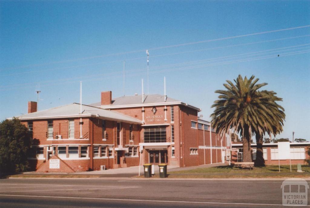 Wycheproof, Buloke Shire Hall, 2010