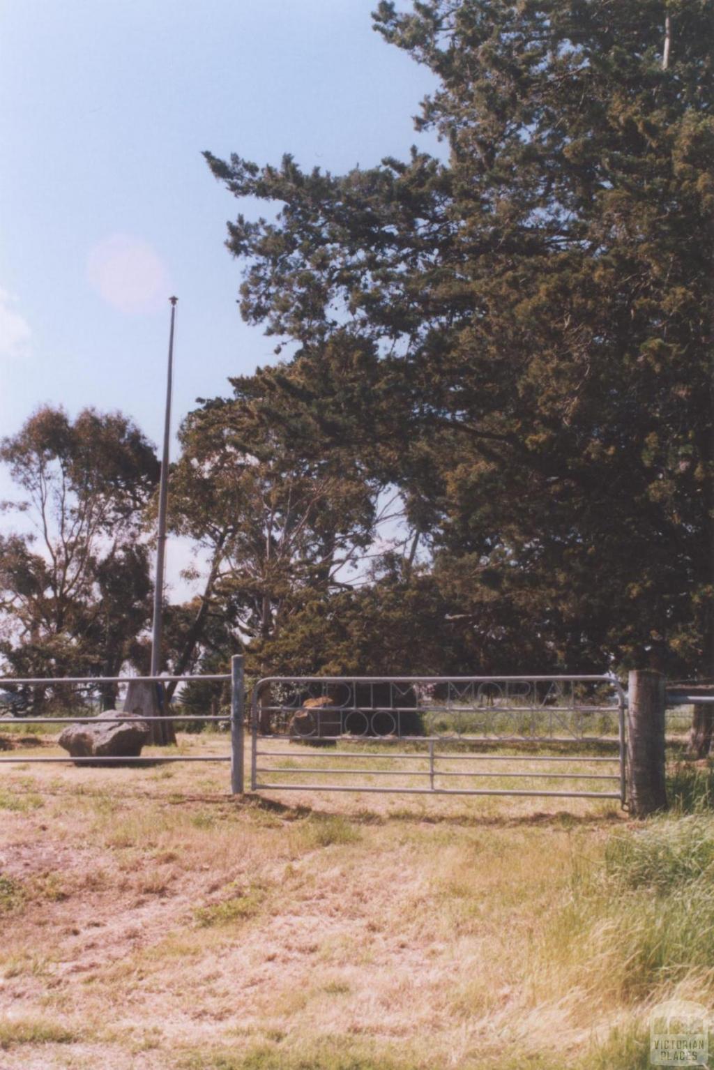 Memorial School Site, Ondit, 2010