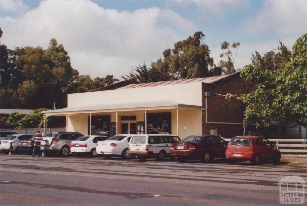 Cafe and former General Store, Tarrington, 2011