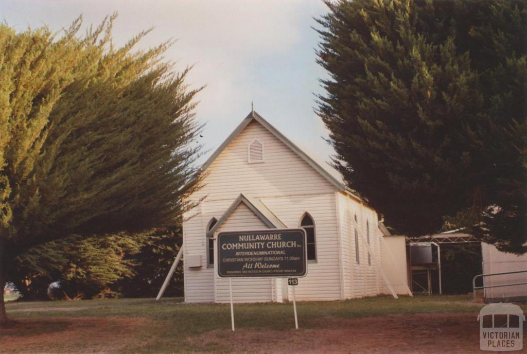 Community Church, Nullawarre, 2013
