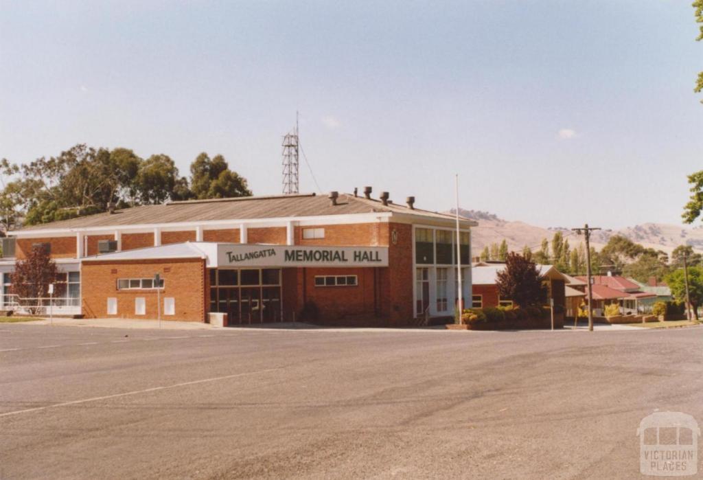 Memorial Hall, Tallangatta, 2006