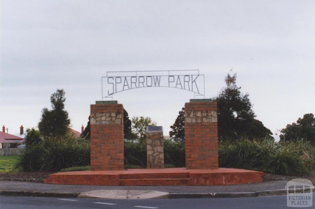 Sparrow Park, Geelong West, 2011