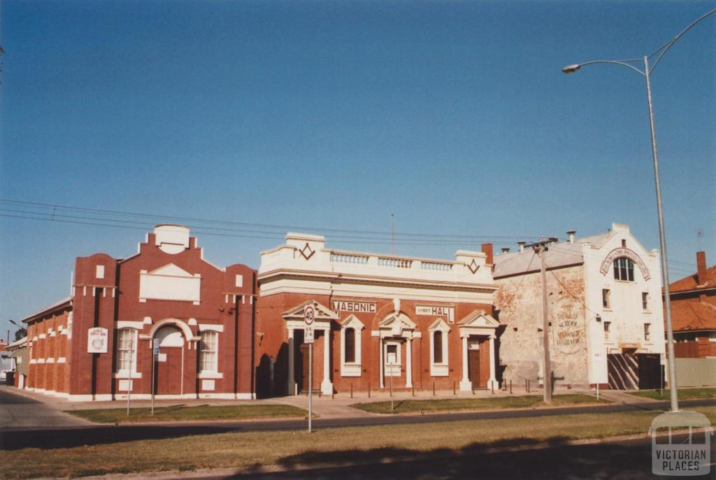 Salvation Army and Masonic Hall, Echuca, 2012