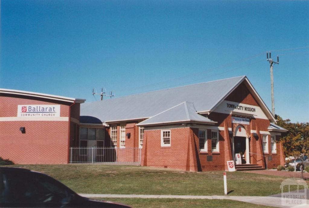 Salvation Army, Callow Street, Ballarat East, 2012