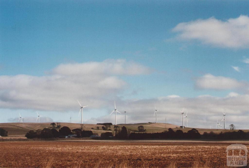 Southern Part of Wind Farm, Waubra, 2012