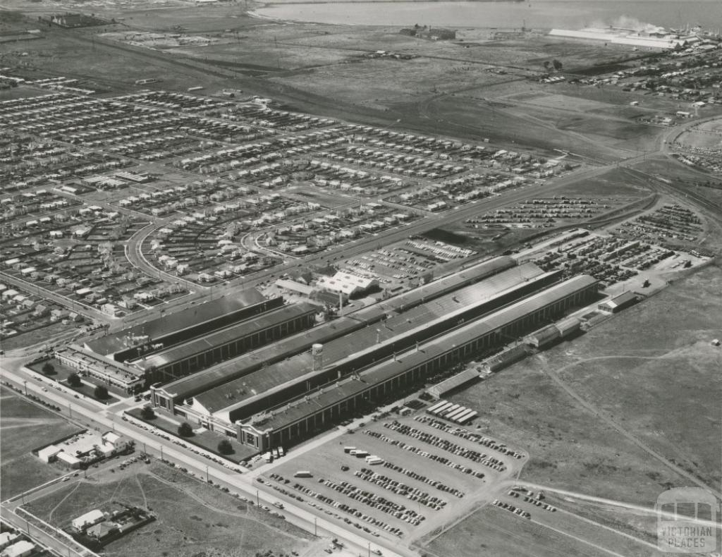 Ford Motor Works, Norlane, 1966