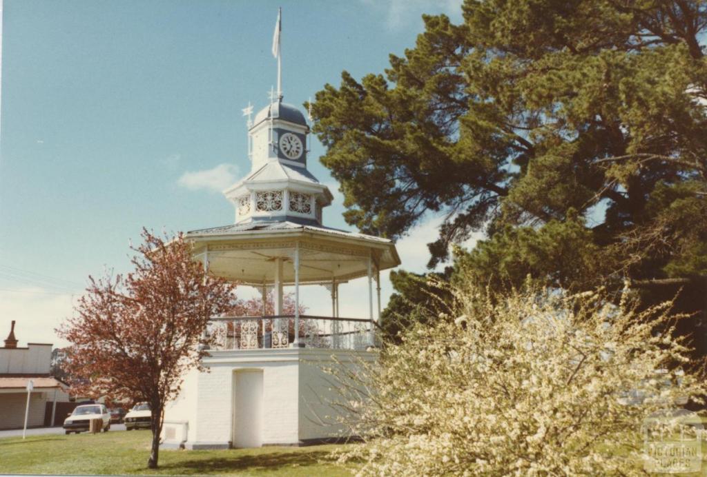 Band Rotunda (1903), Beaufort, 1980