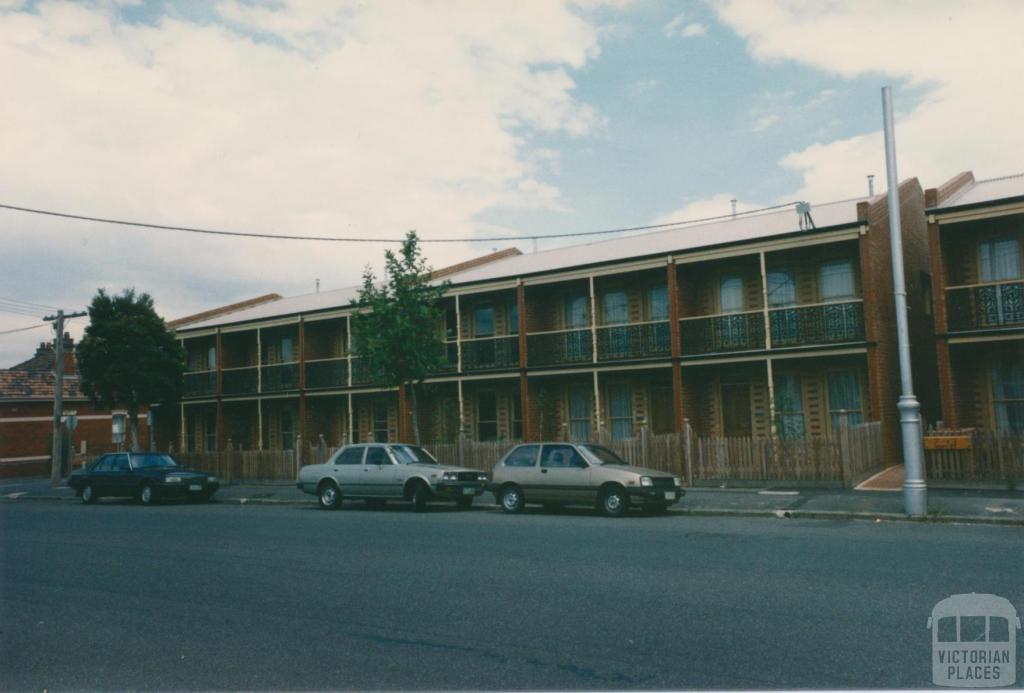 Kent Street, Flemington, 1980