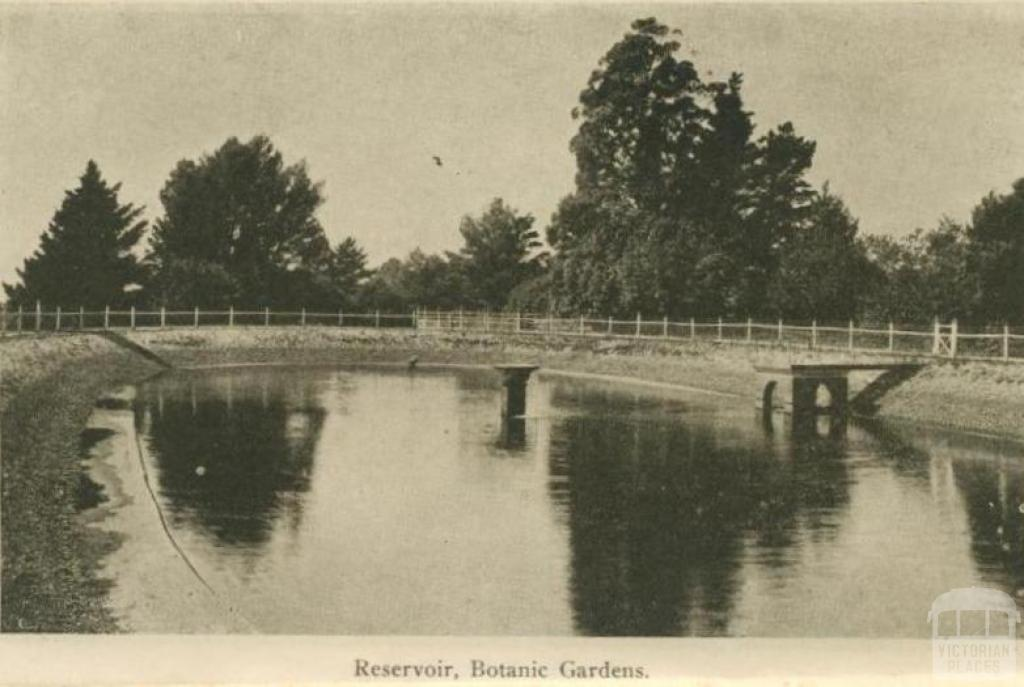 Reservoir, Botanic Gardens, Daylesford
