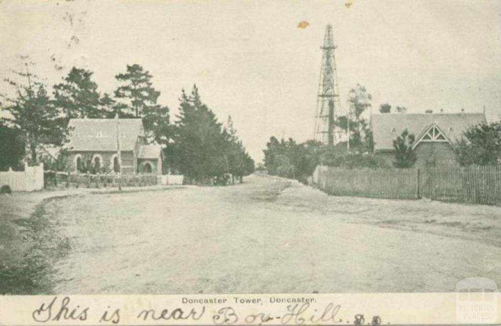 Doncaster Tower, Doncaster, 1905