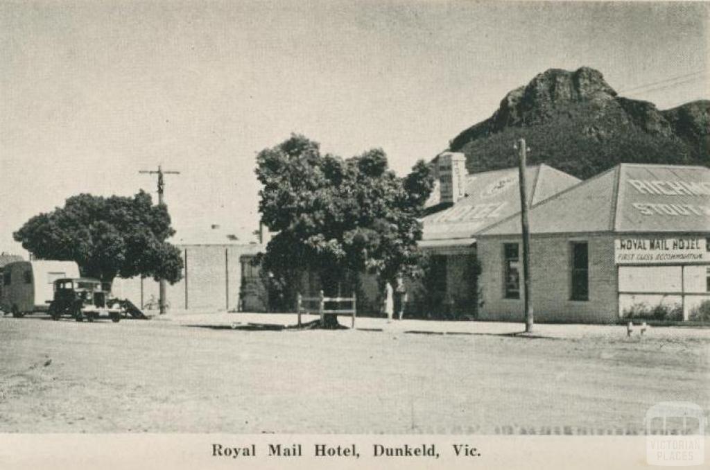 Royal Mail Hotel, Dunkeld, 1952