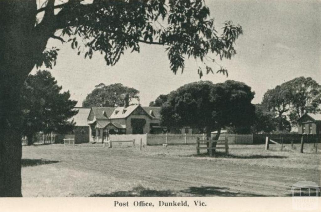 Post Office, Dunkeld, 1952