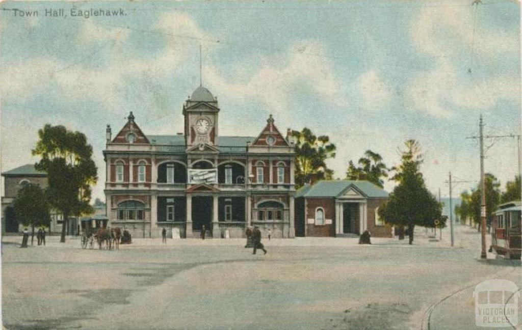Town Hall, Eaglehawk