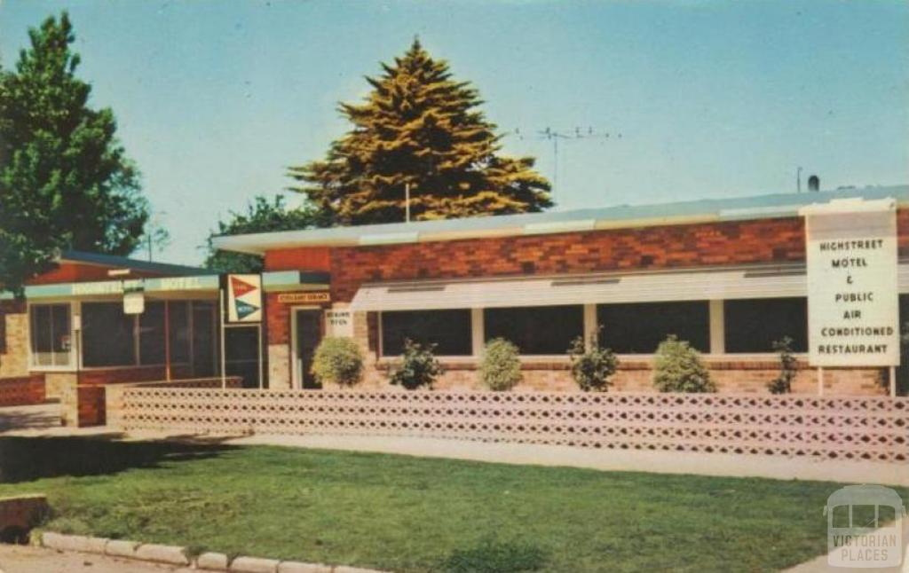 High Street Motel, Echuca, 1965