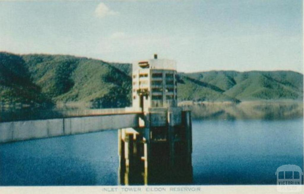 Inlet tower, Eildon Reservoir