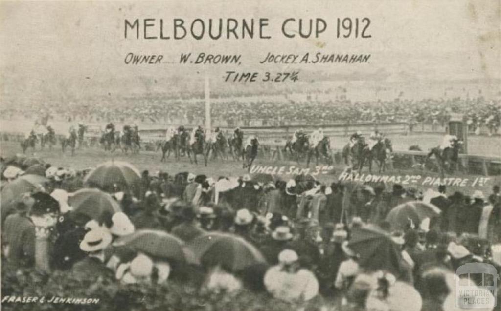 Melbourne Cup, Flemington, 1912