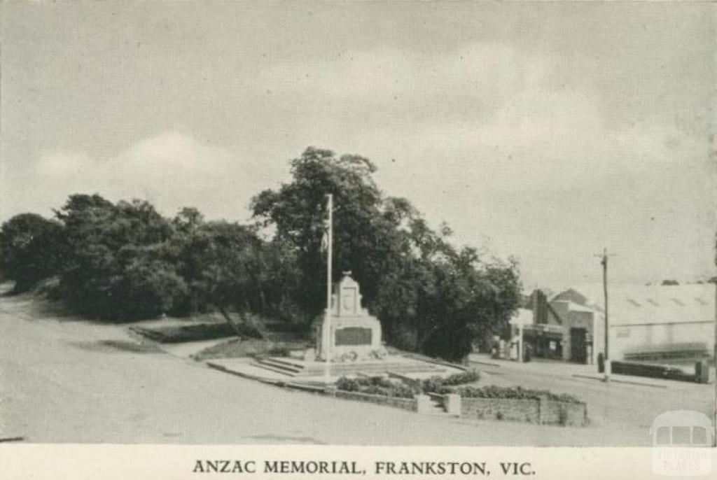 Anzac Memorial, Frankston