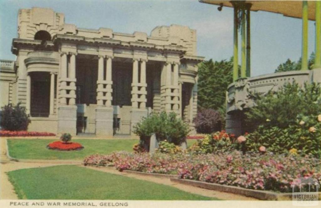 Peace and War Memorial, Geelong